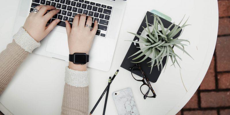 Quarantine Date Ideas:  Blogging